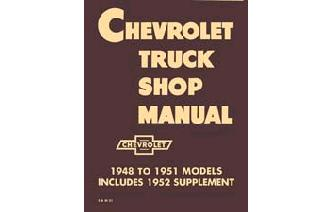 1947 - 1953 Chevy Shop Manual Image