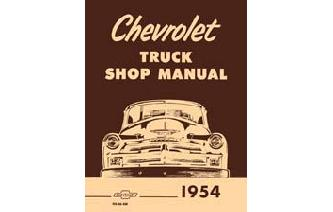 1954 Chevy Shop Manual Image