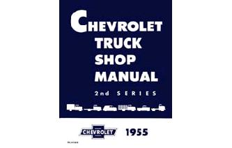 1955 2nd Ser. Chevy Shop Manual Image