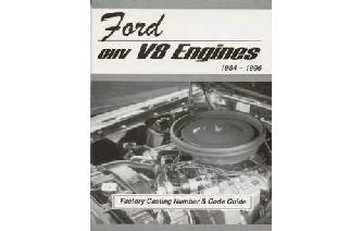 Ford OHV V8 Engines 1954 to 1996 Casting Numbers Book Image