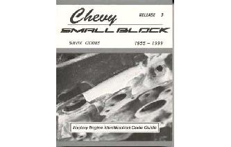 """Chevy Small Block Factory Suffix Codes Guide Book"" Image"