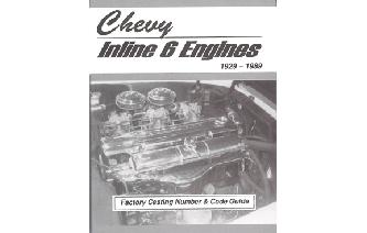Chevrolet Inline 6 Engines Factory Casting Number Guide Image