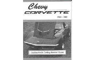"""Chevy Corvette Casting Number & Engine Code Guide Book Image"