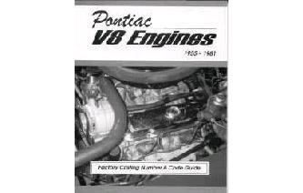 """Pontiac V8 Engines -1955 to 1981 Factory Casting Numbe Image"